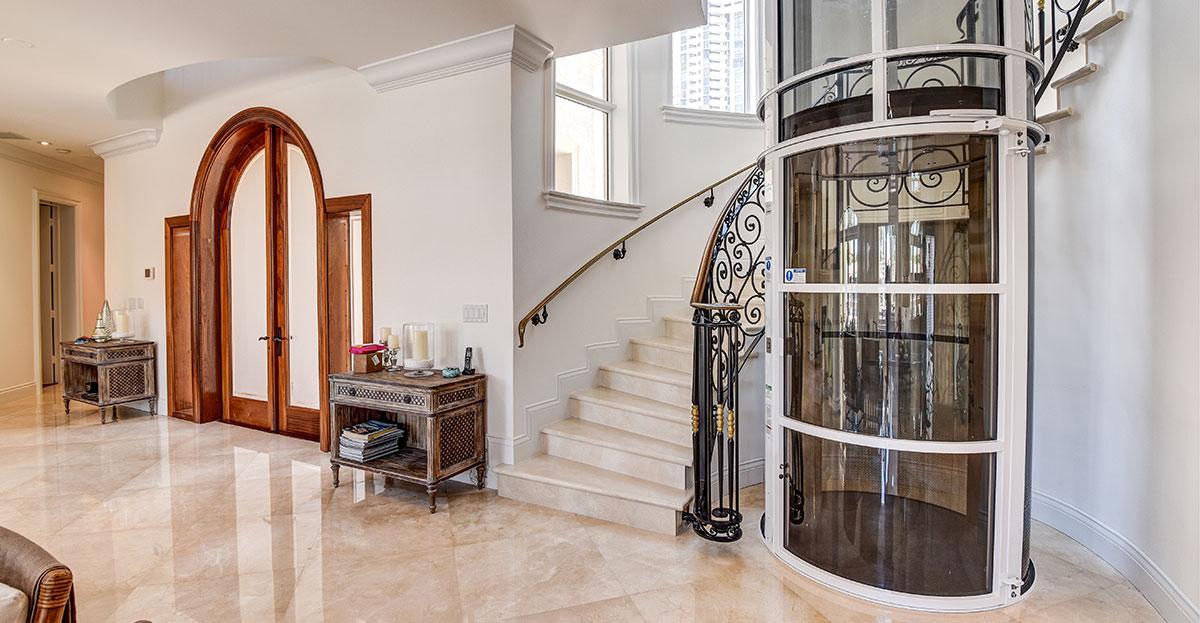 Ascensores para casas particulares elevador residencial - Ascensores para viviendas unifamiliares ...